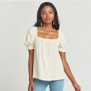 Show Me Your Mumu Cambria Linen Top, Medium
